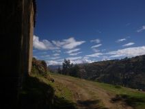 Huaraz, Peru, hiking in Laguna Wilkacocha