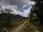 Huaraz, Peru, hiking in Laguna Churup
