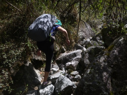 Caraz, Peru, Laguna Paron, hiking 15km