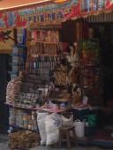 La Paz, witch market with llama foetus