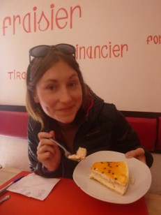 Sucre, Bolivia, French pastry and happy Ula