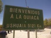 Border between Bolivia and Argentina