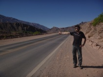 Tilcara, Argentina, hitch hiking south