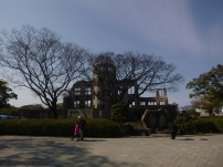 "Hiroshima, so-called ""atomic dome"" (ruins left after the A bomb dropping)c, Japan"