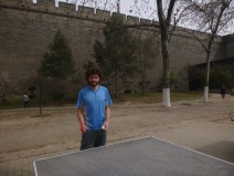 Xi´an, playing tennis table, China