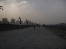Xi´an, city walls, China