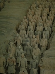Terra cotta army, Xi´an, China