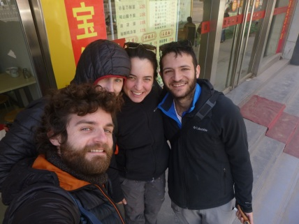 Xi´an with Chen and Asaf, China
