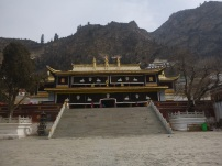 Youning Si Monastery, close to Xining, China