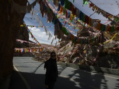Princess Wencheng monastery close to Yushu, China