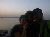 Meeting with Fabian, Varanasi, India