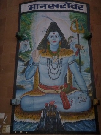 Shiva, god of Varanasi, India