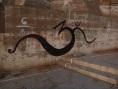 """""""om"""" sign, Varanasi, India"""