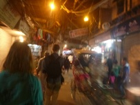 Old Delhi, by night, India