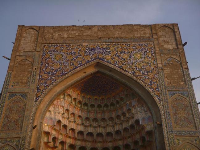 Architectural details, Bukhara, Uzbekistan