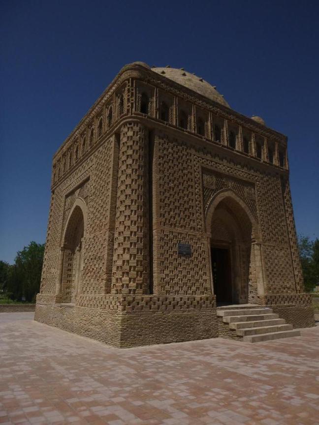 Old mausoleum, 9th c AD, Bukhara, Uzbekistan