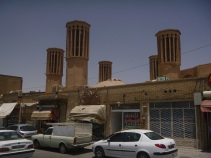 Yazd, wind tower, Iran