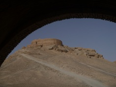 Zoroastrian tower of silence, Yazd, Iran