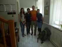 Art hostel team, Tashkent, Uzbekistan