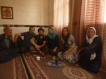 Very friendly family in iranian Kurdistan, Iran