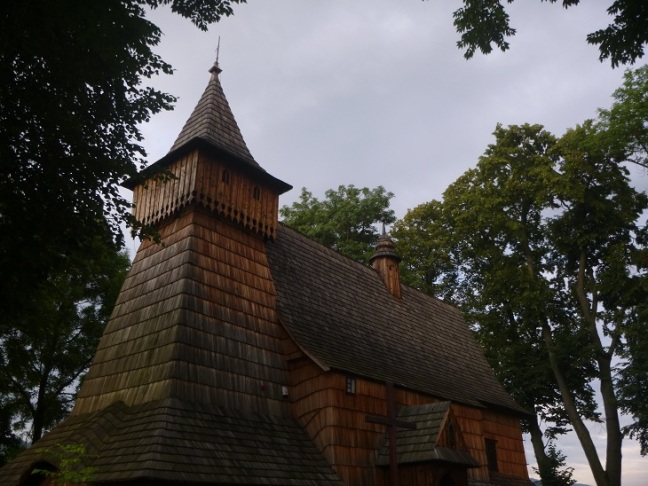 Wooden church, south east of Poland